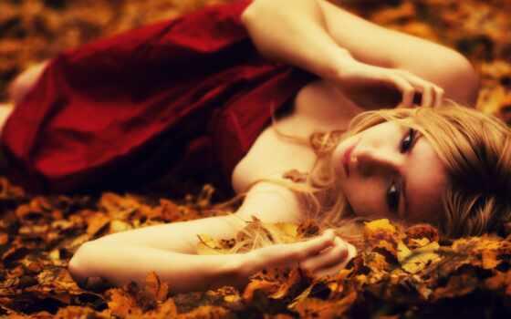 женщина, осень, user, пасть, знать, leaf, фото, роза, speak