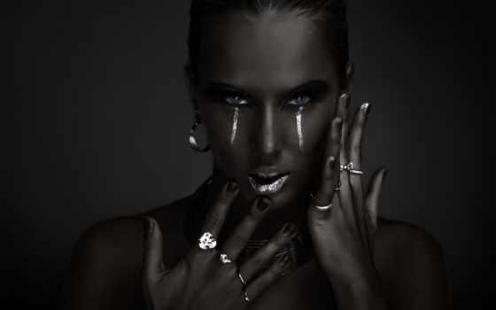 девушка, украшения, серебра, devushki, кольцами, аватар, чёрно, пальцах, белая, matteo,