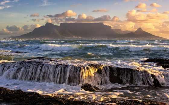юар, cape, town, столица, ocean, страны, природа, юго, город,