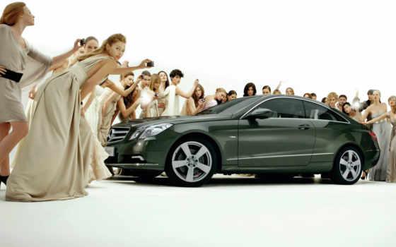 девушки, автомобили, авто
