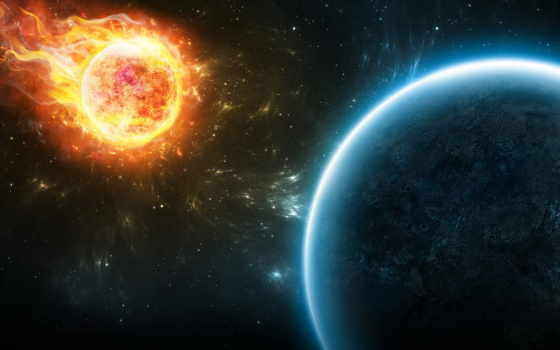 метеорит, planet, конец