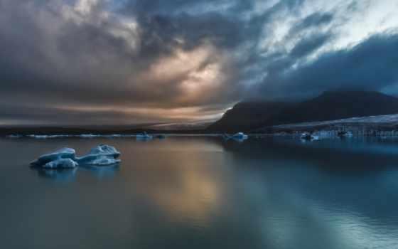 serenity, широкоформатные, природа, ледяная, best,