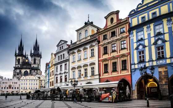 город, площадь, прага, ultra, экскурсия, urban, build, staromestskii, деревня, чехия
