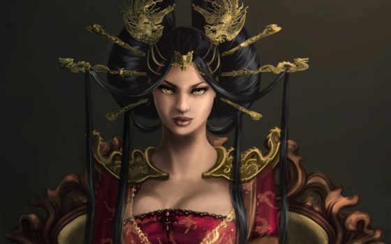 queen, dragon