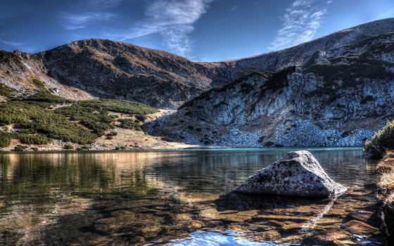 горное озеро Фон № 100020 разрешение 4071x2704