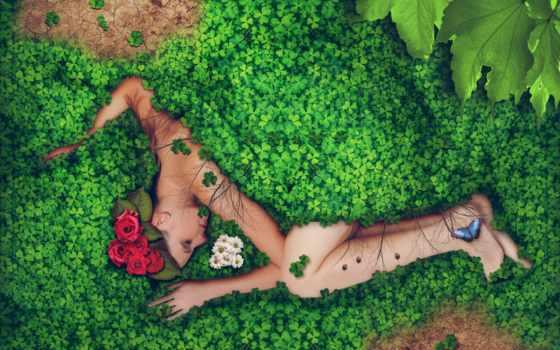 naturaleza, mujer, con, que, para, sobre, los,