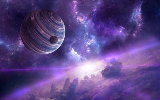 nebula, planets, космос, desktop, widescreen, resolutions,