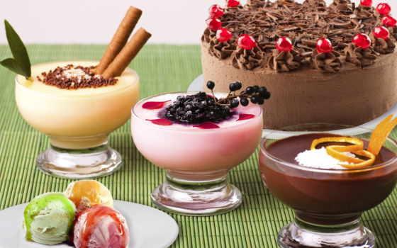пирог, сладкое, мороженное, vita, ягоды