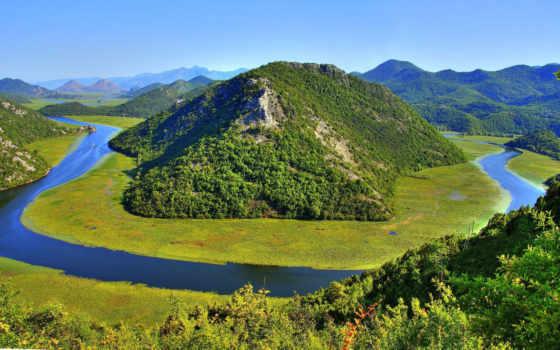 озеро, черногория, skadarskii, лодка, rent, country, south, поездка, балкан, большой