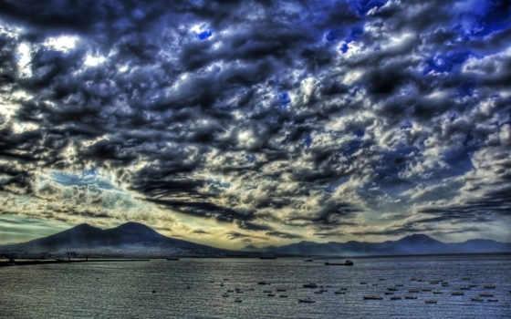 clouds, dark