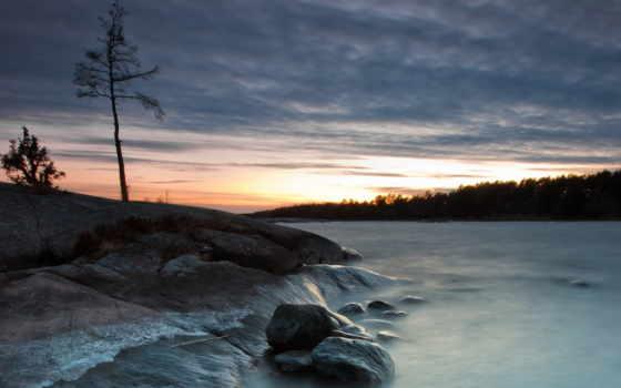 природа, озеро Фон № 31564 разрешение 1920x1080