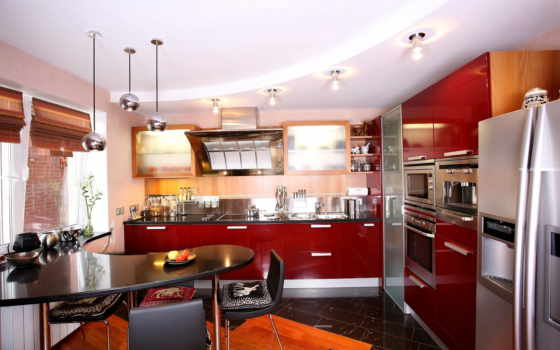 кухни, интерьера
