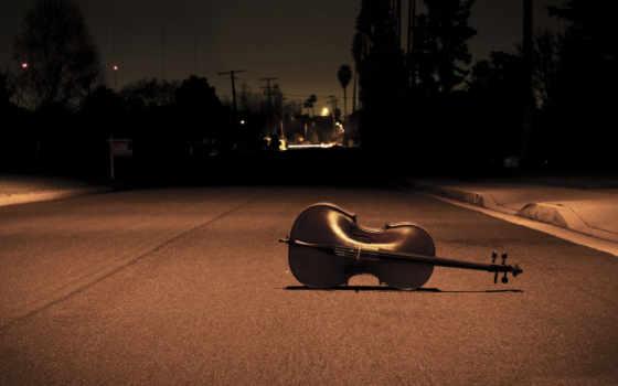 музыка, ночь, дорога