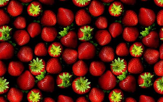 еда, клубника, ягоды, напитки, макро,