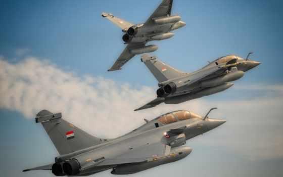 air, сила, rafale, египетский, dassault, истребитель, франция,