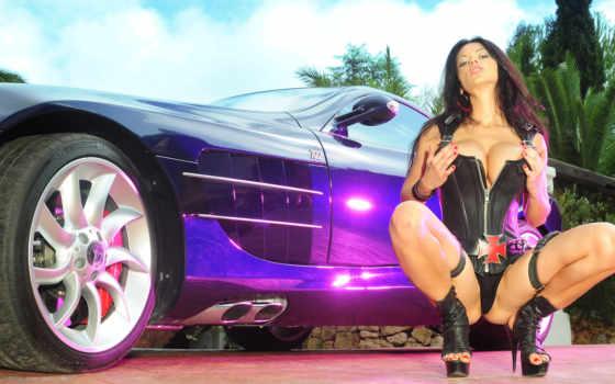 девушки, авто Фон № 5199 разрешение 2560x1600