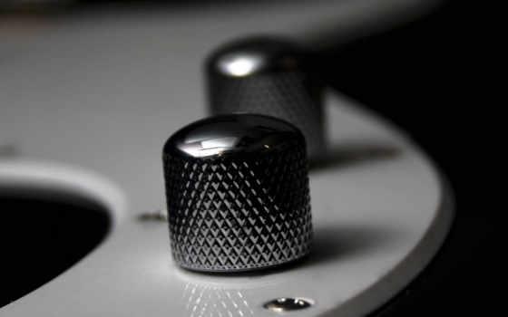 гитара, black, white