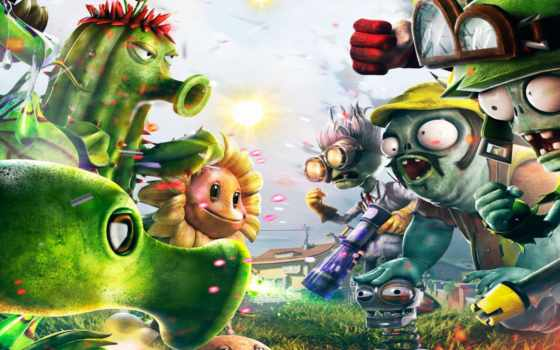 shooter, garden, warfare, plants, zombies,