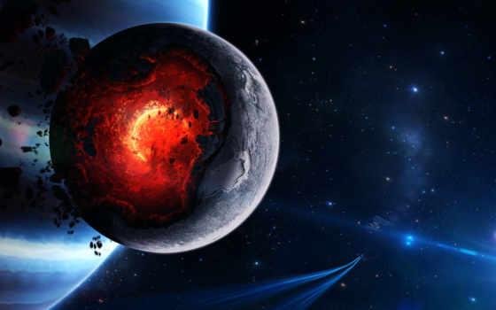 cosmos, planet, широкоформатные