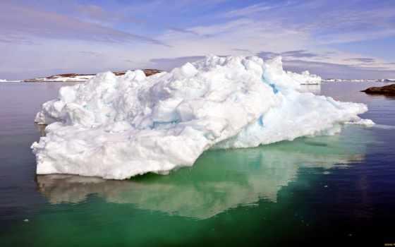 дек, glacier, природа