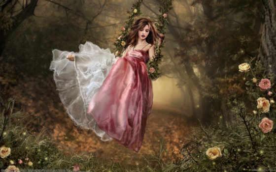 fantasy, art, девушка, girls, женщина, fantezi, gif, amazing, denigmo,