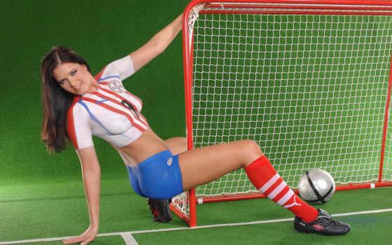 девушки, форма, футбол