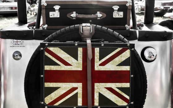 anglais, drapeau, immatriculation