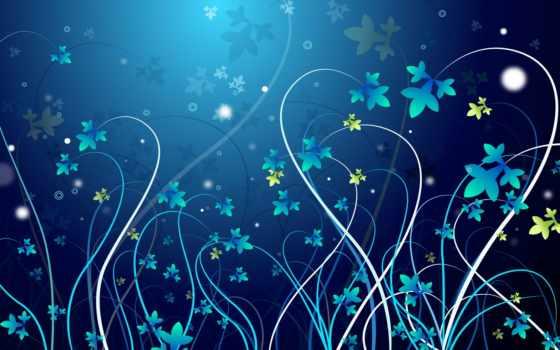 абстракция, цветы, flowers