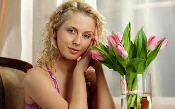 букет, девушка, cvety, girls, die, тюльпаны, devushki, ste,