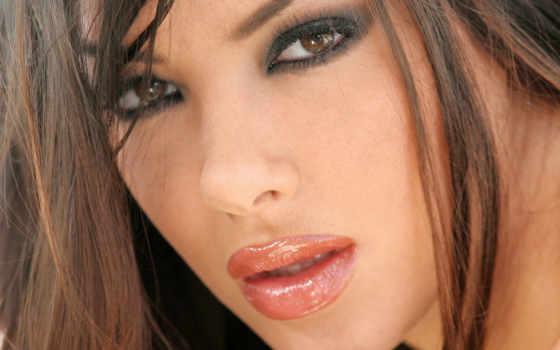губы, gratis, кареглазая, макияж, foto, bild, bakgrundsbilder, материал, arabella,