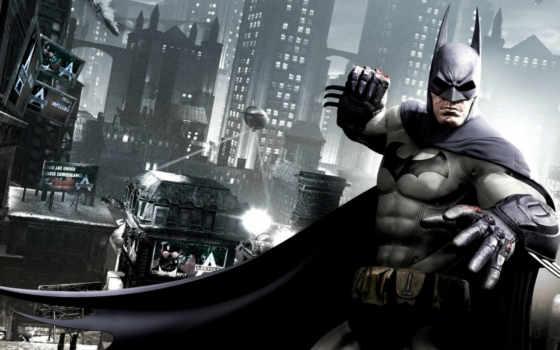 arkham, batman, game, рыцарь,, город, origins, судебные, иски,,