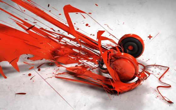 headphones, wallpaper