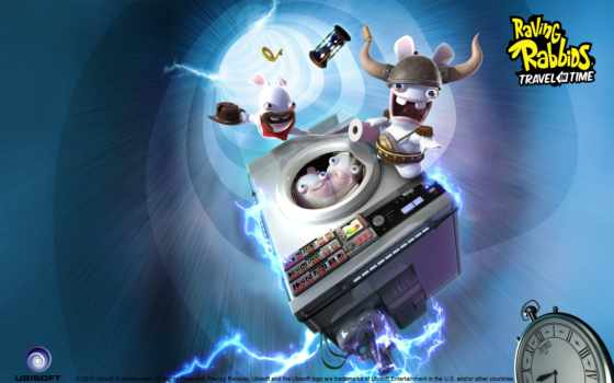 raving, rabbids