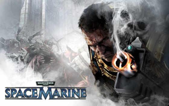 warhammer, космос, marine