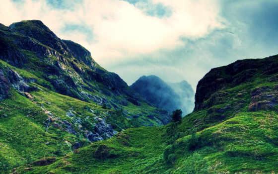горах, сердце, mine