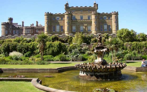 castle, culzean, шотландии, british, калзин, замки, ук, фотообои,