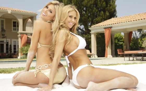 девушки, блондинки Фон № 33337 разрешение 1920x1200