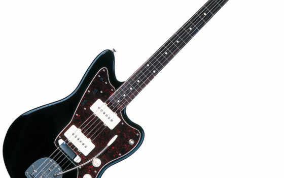 черная гитара