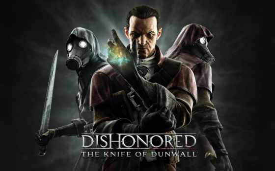 dishonored, нож, dunwall,