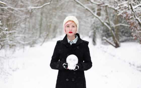 winter, devushki, особенный, зимой, красивы, пейзажной, только, time, замечательная, шубка, семки,