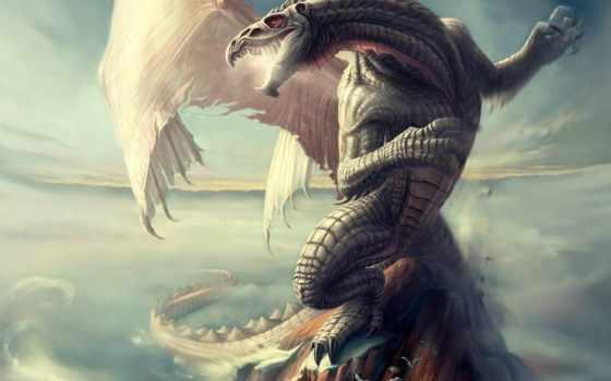 дракон, you, тест, рисунок, хороший, pass, beon,