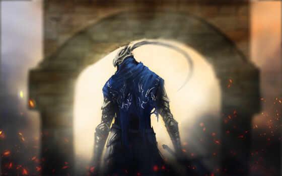 soul, dark, artoria, рыцарь, vrata, приготовить, игра, издание, die, art