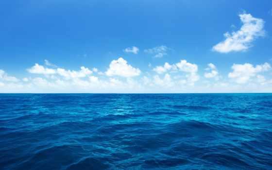 море, clouds