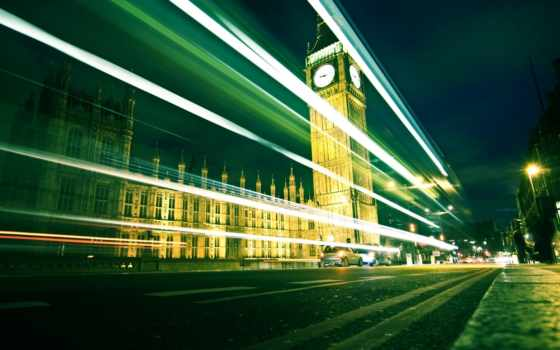 ночь, london, дорога