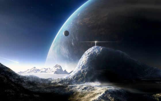 cosmos, планеты, картинка Фон № 116559 разрешение 1600x1200
