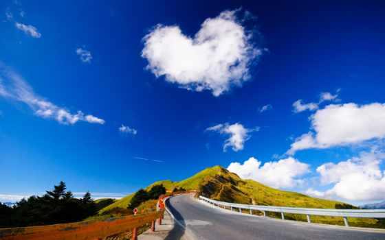 сердце, облако, free