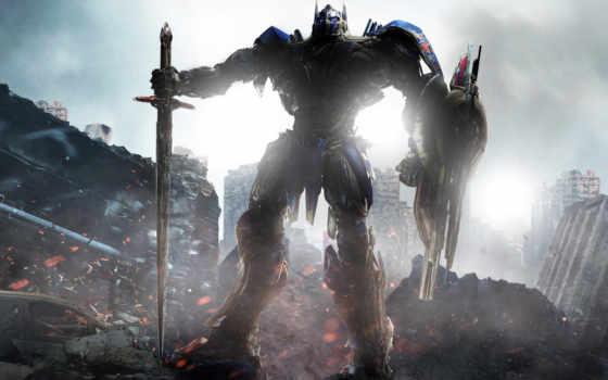 трансформеры, последний, рыцарь, transformers, trailer, автор, фильма, optimus, сниматься,