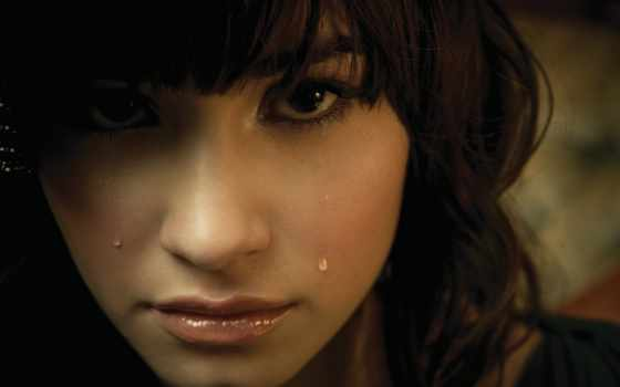 плачет, девушка, brunette, how, cry, плачущий, но, lovato, demi, женщина, devushki,