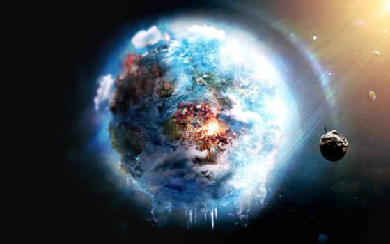 earth, space Фон № 24639 разрешение 1920x1080