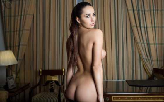 , голая, девушка, попка, секси, грудь, сиськи,
